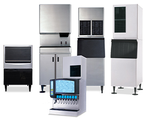 Ice Cubers, Ice Storage & Ice Dispensers